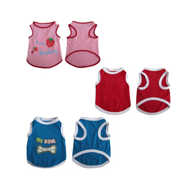 jcpenney.com | Iconic Pet 3-pk. Assorted Tank Tops