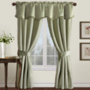 Burlington 5-Piece Blackout Rod-Pocket Curtain Set