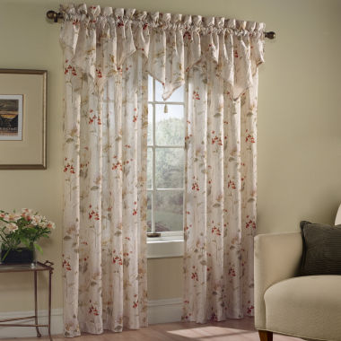 jcpenney.com | United Curtain Co. Chantelle Rod-Pocket Curtain Panel
