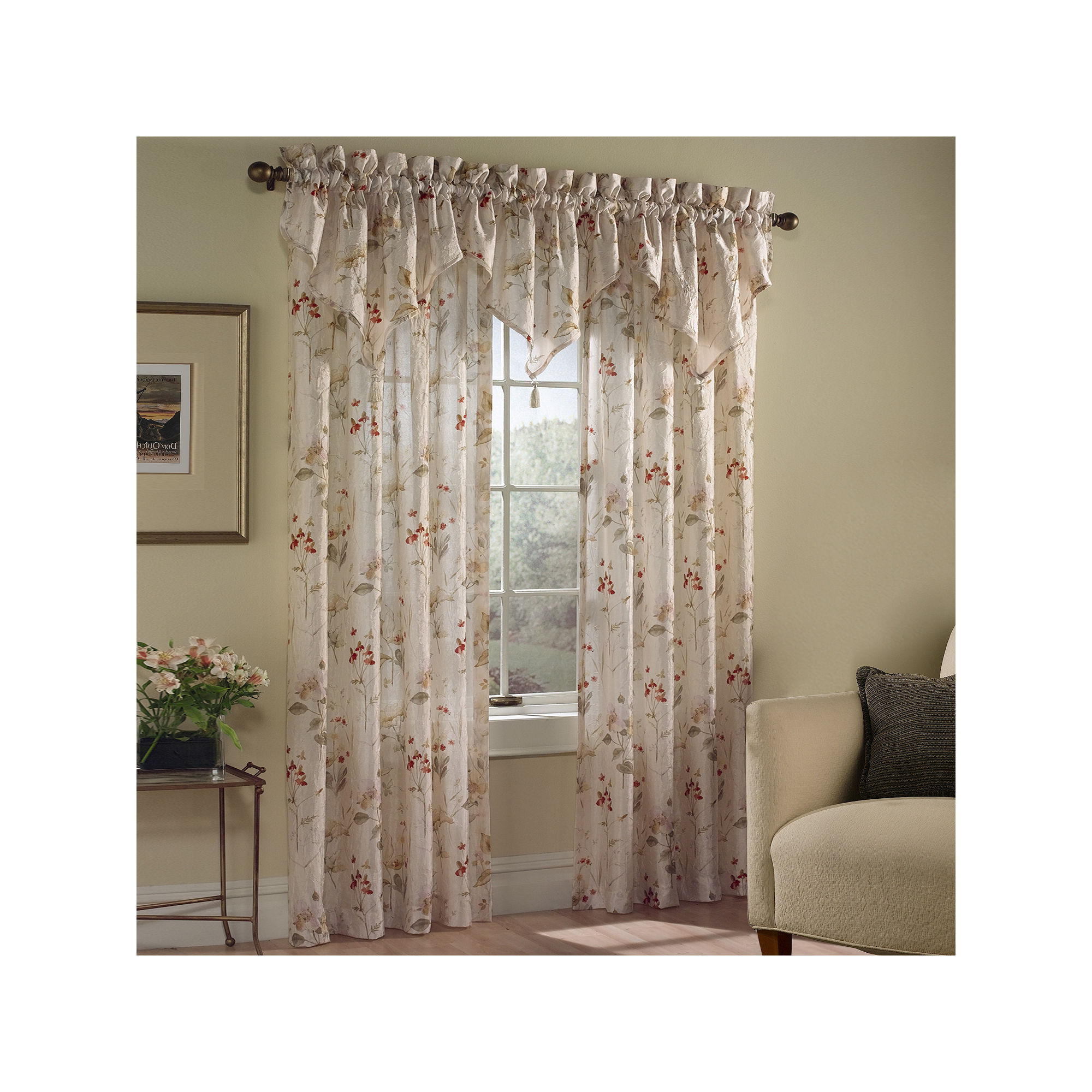 021371008518 Upc United Curtain Co Chantelle Window