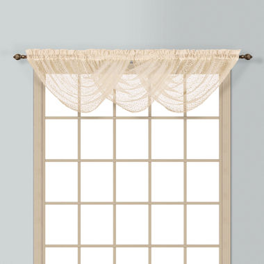 jcpenney.com | Charlotte Rod-Pocket Waterfall Valance