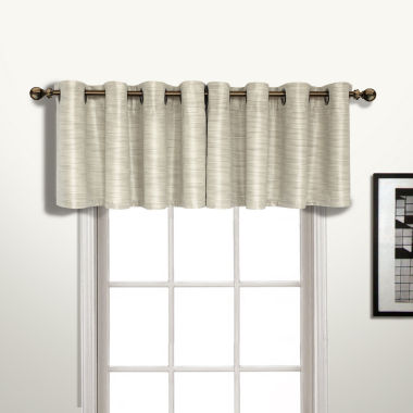 jcpenney.com | United Curtain Co. Brighton Grommet-Top Straight Lined Valance