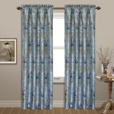 jcpenney.com | United Curtain Co. Jewel Rod-Pocket Curtain Panel