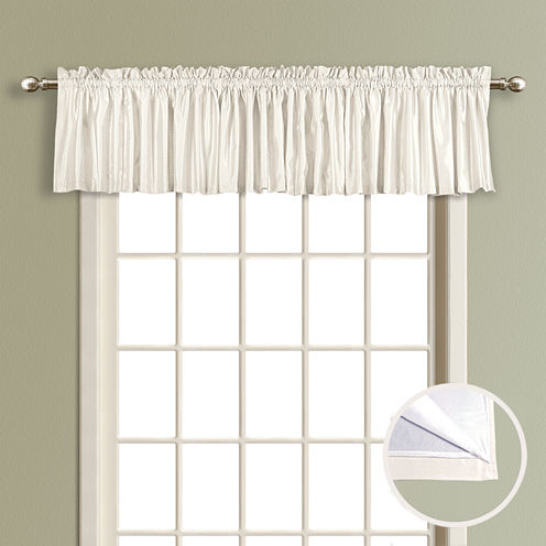 United Curtain Co Lincoln Rod-Pocket Tailored Valance