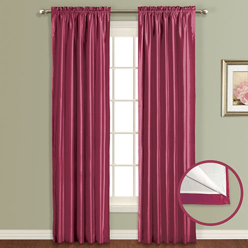 United Curtain Co. Lincoln Rod-Pocket Curtain Panel