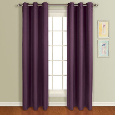 jcpenney.com | United Curtain Co. Mansfield Grommet-Top Curtain Panel
