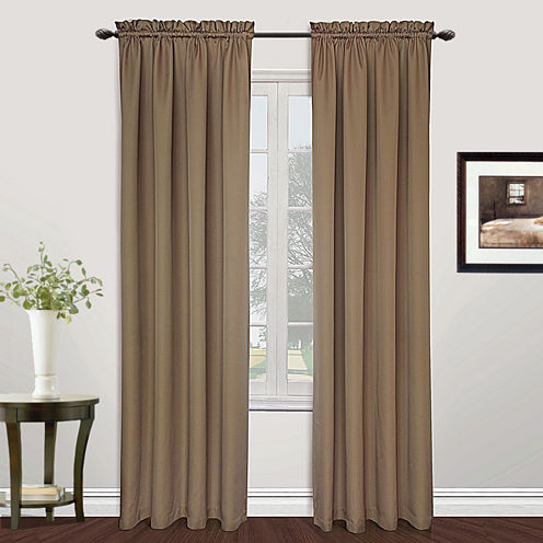 United Curtain Co. Metro Rod-Pocket Curtain Panel