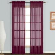 Montecarlo 2-Pack Rod-Pocket Curtain Panel