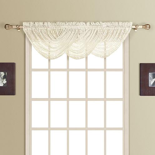 United Curtain Co. New Rochelle Rod-Pocket Valance