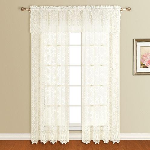 "United Curtain Montecarlo 56""X16"" Rod-Pocket Valance"