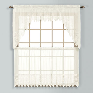 jcpenney.com | United Curtain Co Rod-Pocket Window Tiers