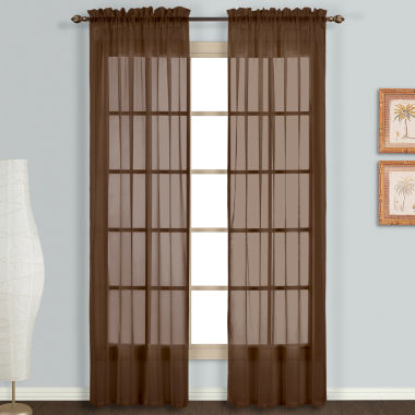 jcpenney.com | Monte Carlo Rod-Pocket 2-Pack Curtain Panels