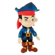 Disney Medium Jake Captain Plush Toy