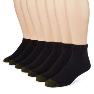 jcpenney.com | Gold Toe® 6-pk. Athletic Quarter Socks + Bonus Pair