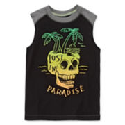 Arizona Graphic Muscle Tank Top - Preschool Boys 4-7