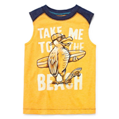 jcpenney.com | Arizona Graphic Muscle Tank Top - Preschool Boys 4-7