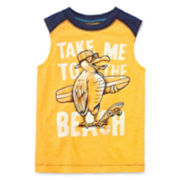 Arizona Graphic Muscle Tank Top - Preschool Boys 4-7