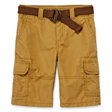 jcpenney.com | Arizona Belted Cargo Shorts - Preschool Boys 4-7