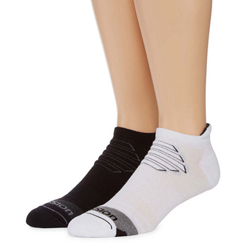 Xersion 2 Pack Ice Cold Low Cut Tab Socks - Big