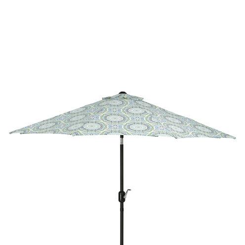 Pillow Perfect 9-Foot Market Patio Umbrella