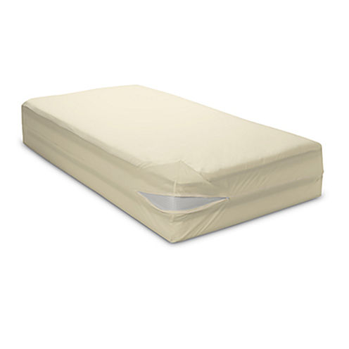 BedCare Organic Cotton Allergy and Bed Bug Proof 15inch Mattress Cover