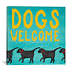 Icanvas Dogs Welcome Canvas Art