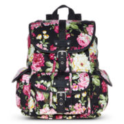 Olsenboye® Floral Glitter-Trim Backpack