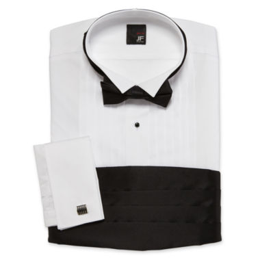 jcpenney.com | JF J. Ferrar® Tuxedo Shirt Set–Big & Tall
