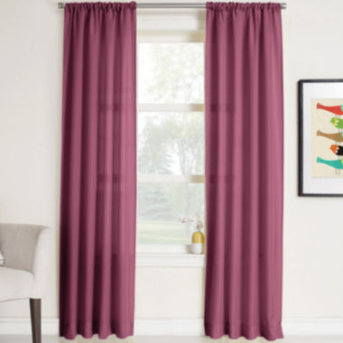 jcpenney.com | Remi Solid Rod-Pocket Curtain Panel