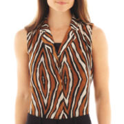 Worthington® Sleeveless Top with Cami