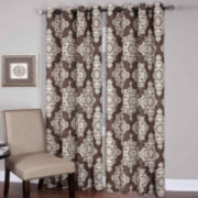 Medina Ikat Grommet-Top Curtain Panel