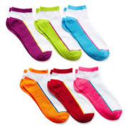 6-pk. Colorblock Low-Cut Socks