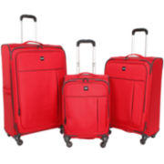 CLOSEOUT! Sharper Image® True Light Expandable Spinner Upright Luggage Collection
