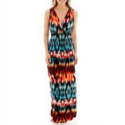 a.n.a® Sleeveless V-Neck Empire-Waist Maxi Dress