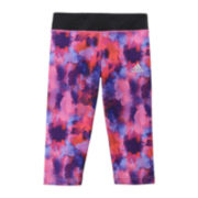 adidas® Knit climalite® Printed Capris - Girls 7-16