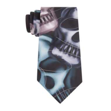 jcpenney.com | Jerry Garcia® Plague Entity Silk Tie - Extra Long