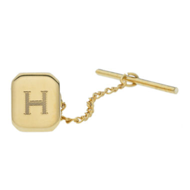 jcpenney.com | Personalized Gold-Toned Tie Tack