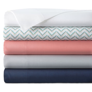 jcpenney.com | Home Expressions™ 200tc Cotton-Rich Twin XL Sheet Set