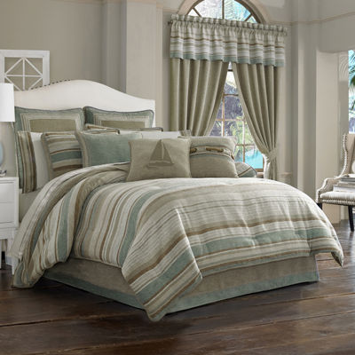 Queen Street® Nantucket 4-pc. Jacquard Chenille Comforter Set