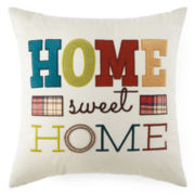 JCPenney Home™ Home Sweet Home Decorative Pillow