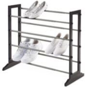 Neatfreak!® Wood 4-Tier Stackable/Expandable Shoe Rack
