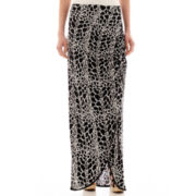 Worthington® Gathered-Front Maxi Skirt - Tall