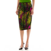 Worthington® Tipped Pencil Skirt - Tall