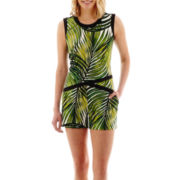 Worthington® Sleeveless Leaf Print Top or Print Shorts