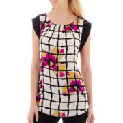 Worthington® Colorblock Tunic Top