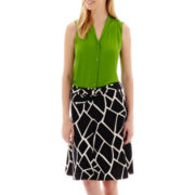 Worthington® Button-Front Blouse or A-Line Skirt