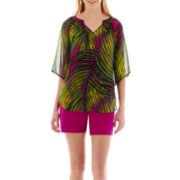 Worthington® Print Blouse or Sateen Shorts