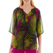 Worthington® Print Blouse