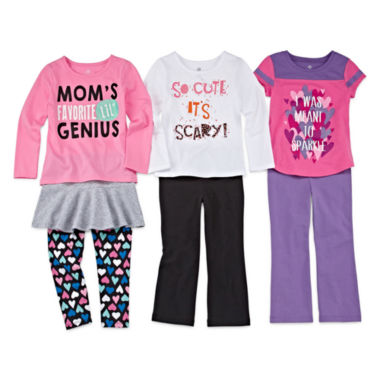 jcpenney.com | Okie Dokie® Tees, Skort, Leggings or Yoga Pants - Toddler Girls 2t-5t