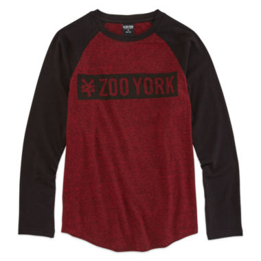 jcpenney.com | Zoo York® Long-Sleeve Knit Graphic Tee - Boys 8-20